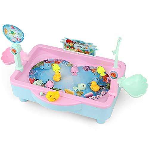 COSYOO Reutilizable Piscina Bañera Baño Colorido Suave Lindo Decorativo Juego De Pesca Juguete Eléctrico Creativo Interactivo Tabla De Pesca De Plástico Simulado