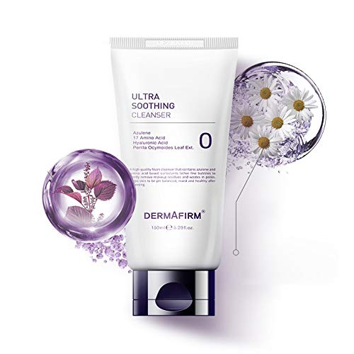 Ranking TOP18 Dermafirm Ultra Soothing Cleanser Containing A 17 Azulene High quality new Amino