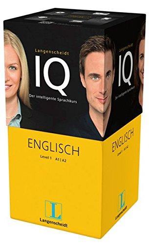 Langenscheidt IQ Englisch - Der intelligente Sprachkurs - Package aus 2 Büchern mit MP3-CDs, Audio-Kurs auf MP3-CD, Software-Training auf USB-Stick ... Classroom, Online-Lern-Manager, Headset
