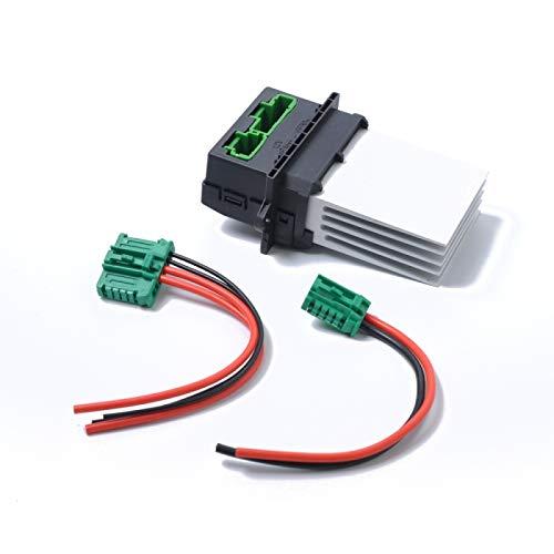 Coche calentador del ventilador del ventilador Resistencia + Conector/Cable 6441.L2 7701207718 for Citroen/Peugeot/Renault Alta calidad
