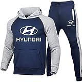 Hickeyy Hombres Jogging Chándal Hyu.N-Dai Dos Piezas Raglán Sudadera con Capucha + Pantalones Sudaderas/D/M sponyborty