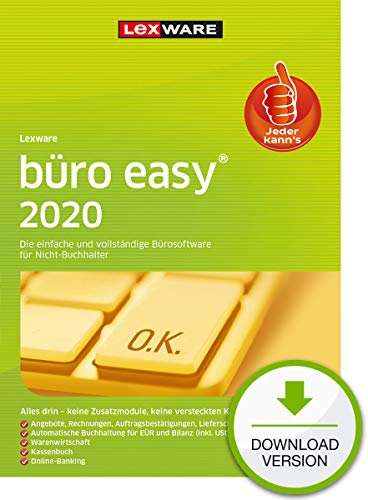 büro easy 2020 Download Jahresversion (365-Tage) | PC | PC Aktivierungscode per Email
