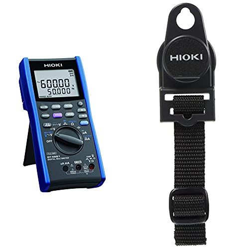 HIOKI(日置電機) DT4281 デジタルマルチメータ(ACクランプ対応タイプ) & マグネット付きストラップ Z5004【セット買い】
