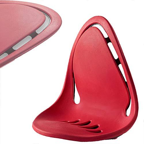 AACXRCR Asiento de silla de corrección lumbar, cojín de apoyo de espalda de oficina con alivio de cadera y dolor de espalda utilizado para asientos de coche, sillas de escritorio de oficina