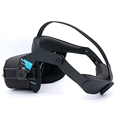 BeswinVR Head Strap for Oculus Quest- VR Comfort Strap, Perfect 50: 50 Balance Weight, Relieve Face Squeeze- Virtual Reality Accessories ( Design Patent Protected)