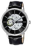 Pulsar Classic Montre Homme Analogique Automatique avec Bracelet Cuir P8A003X1