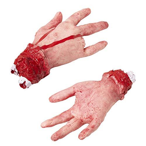 Widmann 81604 - Abgehackte Hand mit abgehacktem Finger, lebensgroß