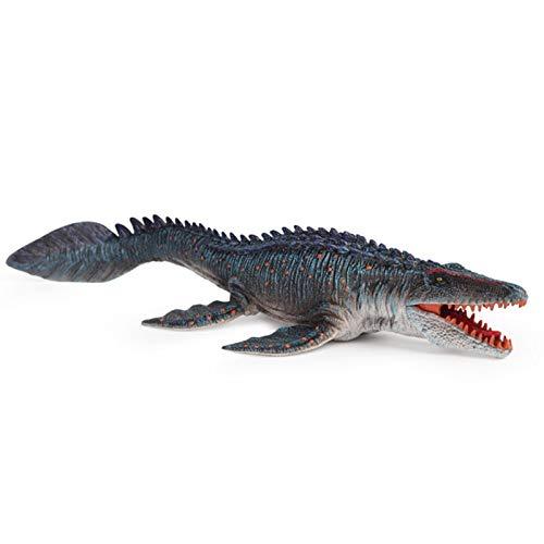 A/A Figuras de Dinosaurio jurásico. Figuras realistas de Dinosaurio Modelo Mosasaurus, Juguetes realistas. para coleccionista Decoración Favor de Fiesta Regalo de Juguete para niños