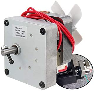 SumoTik 120V 60Hz Replacement Auger Motor For Pit Boss Electric Wood Pellet Smoker Grill, Mechanical Parts Motor, (1.6rpm), 1 X Auger Motor