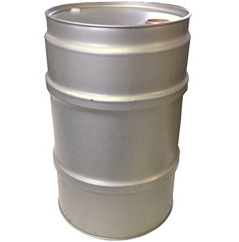 60 Liter Blechfass Stahlfass Fass Garagenfass Ölfass NEU Farbe: SILBER