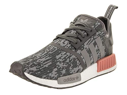 adidas Originals Herren NMD_R1 W, Grey Five Grey Three Raw Pink, 43 EU