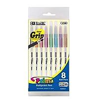 BAZIC Prima スティックペン クッショングリップ付き Box of 24