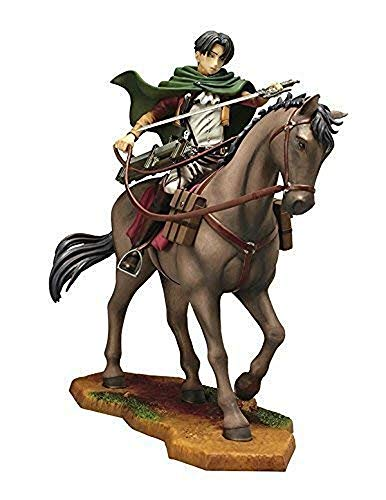 一番くじ 進撃の巨人 -壁外調査女型捕縛作戦- B賞 リヴァイ騎馬フィギュア(プライズ)