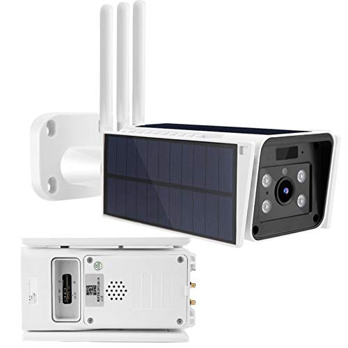Cámara de vigilancia de cámara Solar inalámbrica 4G al Aire Libre Cámara de Seguridad(European Frequency Band)