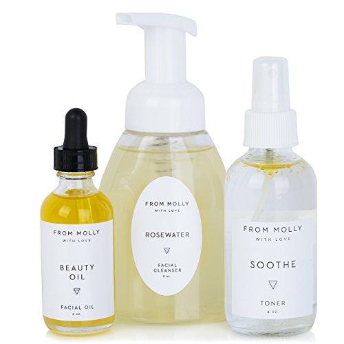 3 Step Organic Skin Care Set - Natural Vegan Skin Care