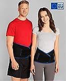 ®BeFit24 Premium Rückenbandage Lendenwirbel für Herren und Damen - Ischias-Bandage - Stützgürtel Lendenwirbelsäule - Rückenstützgürtel - [ Size 5 -