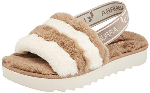 KOOLABURRA BY UGG Fuzz'n Peeptoe sandalen voor dames