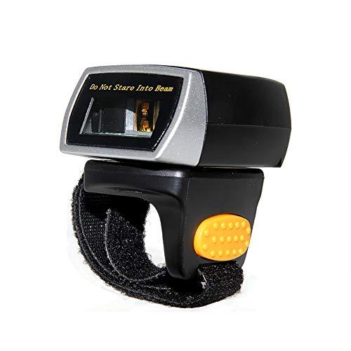 Bluetooth sans Fil Anneau Barcode Scanner, Bar Wearable Mini Portable Doigt Lecteur De Code 500 / S Precision Scan Anti-Chute Intelligente