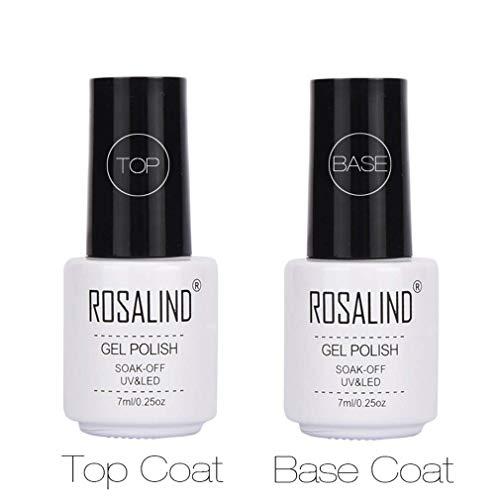ROSALIND Base y Top Coat Semipermentes