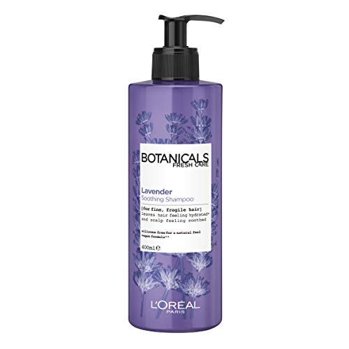 L'Oreal Botanicals Lavender Sensitive Hair & Scalp Therapy Vegan Shampoo 400ml