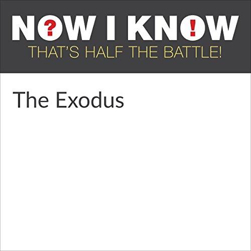 Diseño de la portada del título The Exodus