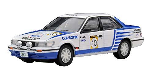 トミカリミテッドヴィンテージ ネオ 1/64 TLV-N185d ニッサン ブルーバードSSS-R チーム・カルソニック 1989年 全日本ラリー仕様 #10 (メーカー初回受注限定生産) 完成品
