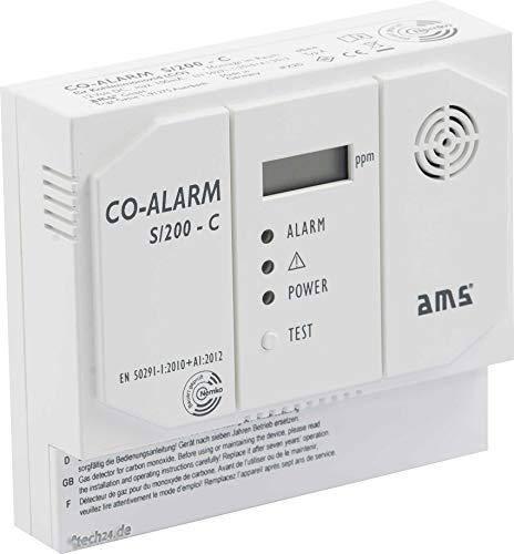 CO Kohlenmonoxidmelder S/200-C für 230 Volt mit Schaltausgang
