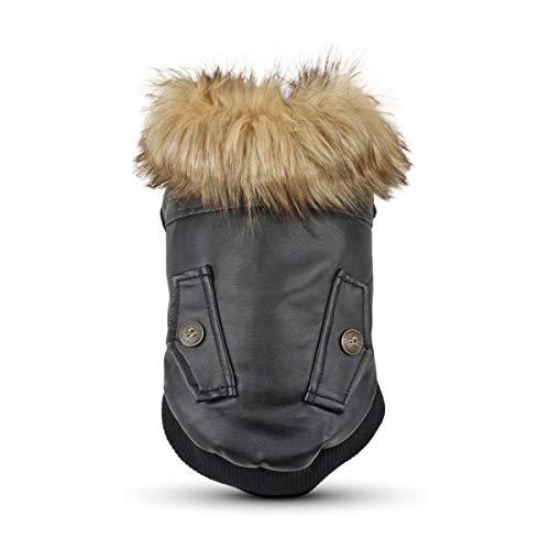 PETCUTE Cappotti per Cani Giubbotti Accogliente per Cani Cucciolo Vestiti Abbigliamento Invernale per Cani Piccoli Medi Grande Taglia