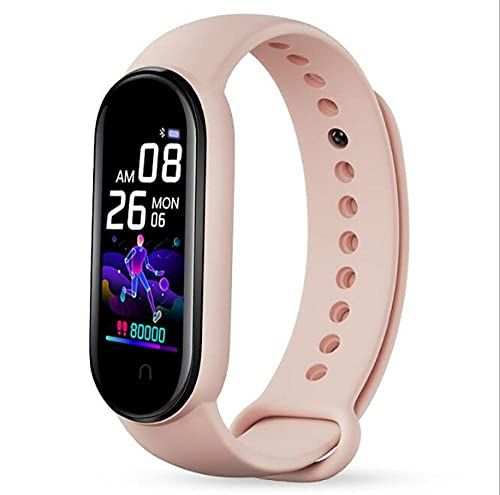 Orologio Telefono Per Ragazzo E Ragazza M5 Smart Bracciale Pressione Orologi Intelligenti Impermeabili M5 Orologio Compatibile Con Bluetooth Wristband Tracker-5 Sportivo Fitness Tracker Ip68