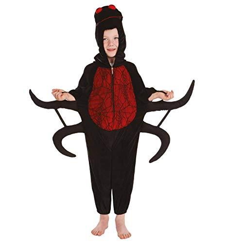 Fun Shack Negro Araña Disfraz para Niños y Niñas - L