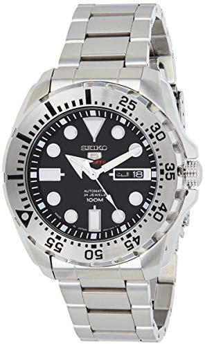 Seiko 5sports Men's Automatic Stainless steel Watch 100M W/R - (Made in Japan) - SRP599J1