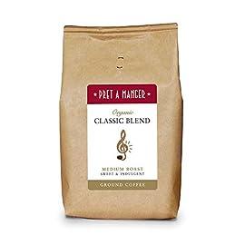 Pret A Manger Organic Classic Blend Ground Coffee 500g