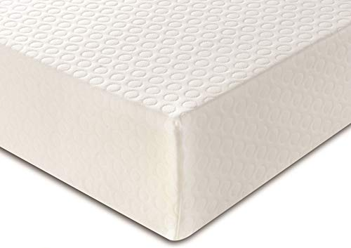 DuraTribe Golden Sleep EU Double Memory Foam Mattress | 15cm Firm Comfort Orthopaedic | Zipped Removable Washable Soft Micro Quilted Cool Breathable Cover