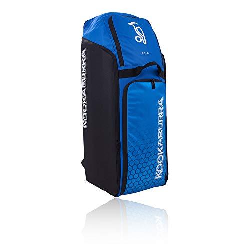 KOOKABURRA Unisex's D3 Cricket Duffle Bag, Navy/Cyan, One Size