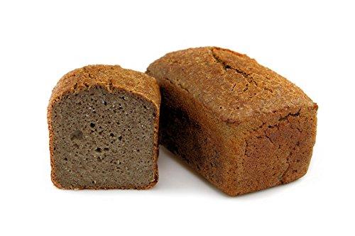 Bio Buchweizenkeimbrot 500 g pasteurisiert haltbares glutenfreies Brot