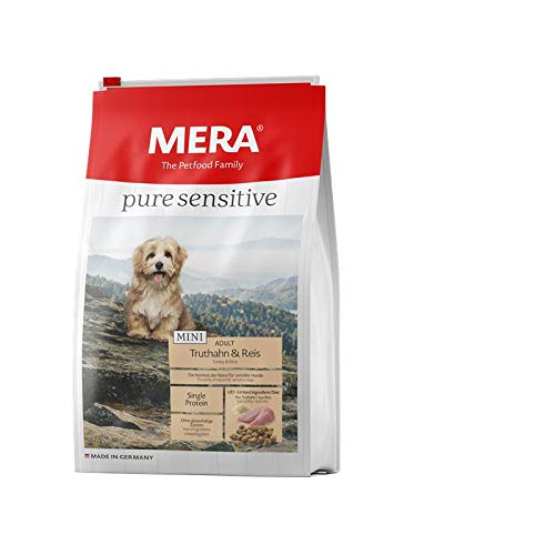 Mera Dog Pure Sensitive Mini Truthahn & Reis 1 kg