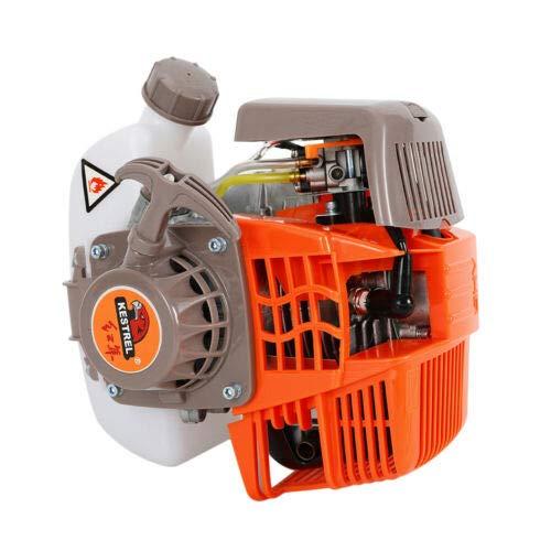 4-Stroke Petrol Engine Single Cylinder Gasoline Engine 31cc, Mini Engine for Brush Cutter Lawn Mower