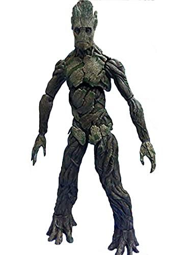 YXCC Statua dei Guardiani della Galassia Decorazione Giocattolo Figura di Azione Fatta a Mano Umana Enorme Albero Groot