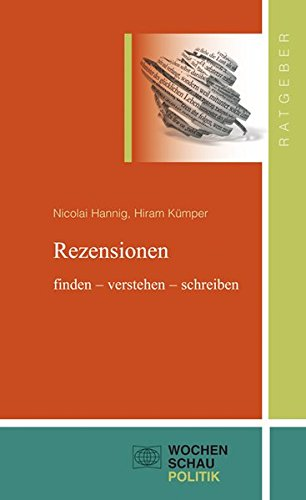 Rezensionen: finden - verstehen - schreiben (Ratgeber)