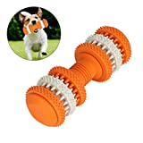 Laicve Dog Chew Toy,Silicone Dumbbell Dog,Molar Stick Effective Cleaning Teeth Pet Interactive Training Toys,Suitable for Dogs and Cats to Play,M