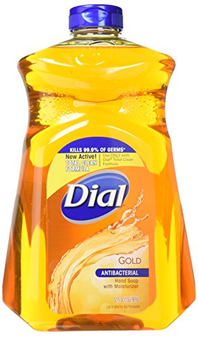 Dial Hand Soap Refill, With Moisturizer, Antibacterial, Gold, 52 oz