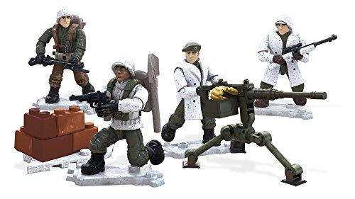 Mega Construx Call of Duty Winter Troop Pack Building Set