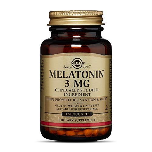 Solgar – Melatonin 3 mg, 120 Nuggets