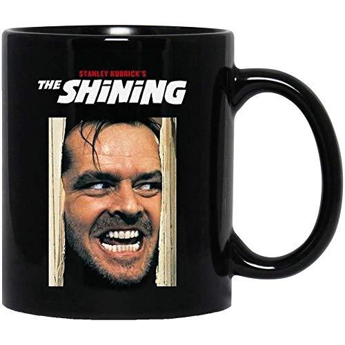 DKISEE The #Shining Man Smile Poster Jack #Torrance Funny Movie Horror Halloween Film Cinema Kaffeetasse Geschenk für Frauen 313 ml