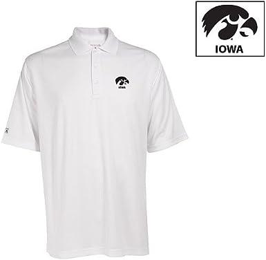 NCAA Iowa Hawkeyes Exceed Desert Dry Lite Polo Mens
