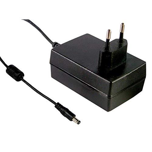 Steckernetzteil 25W 12V 2,08A ; MeanWell GS25E12-P1J ; EU-Plug 5,5/2,1mm