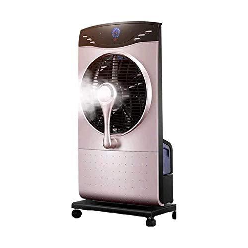 UNU_YAN Enfriador de Aire, el humidificador y Ventilador de refrigeración, 3-Ajuste de Velocidad (con 4,6 litros del Tanque de Agua), la exhibición de LED con 9-Hora del Temporizador, Control Remoto