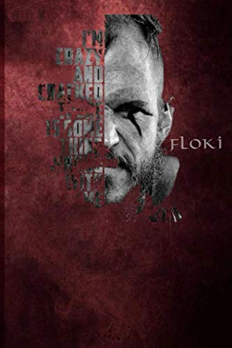 Floki: Viking notebook: Runes notebook | Viking gifts | celtic notebook | celtic gift for viking birthday | 120 pages lined 6x9 format