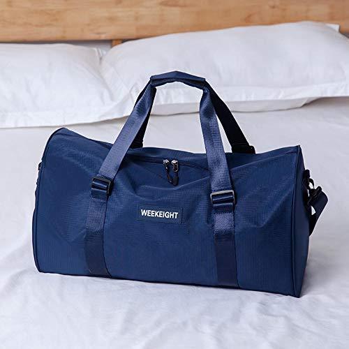 Yixiao Tragbare Reisetasche Yoga Tasche Sport Fitness Tasche Netto rote gepäckaufbewahrungstasche-Marine
