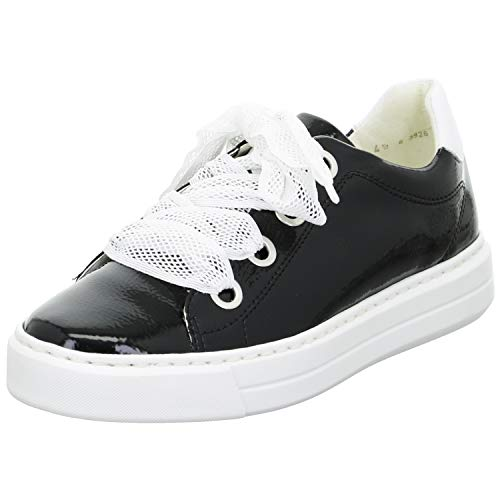 ara Damen COURTYARD Sneaker, Schwarz, Weiss 09), 39 EU(6 UK)